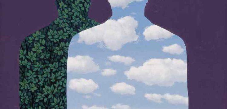 """René Magritte. """"La Belle Société""""."""