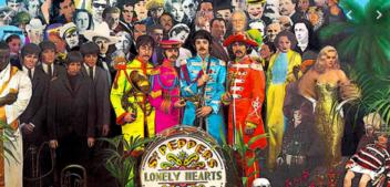 La portada del Sgt. Pepper's de los Beatles Colección de iconos comentados uno a uno.