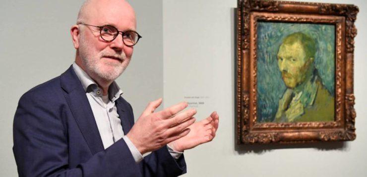 El 'Autorretrato' que Vincent Van Gogh pintó enfermo